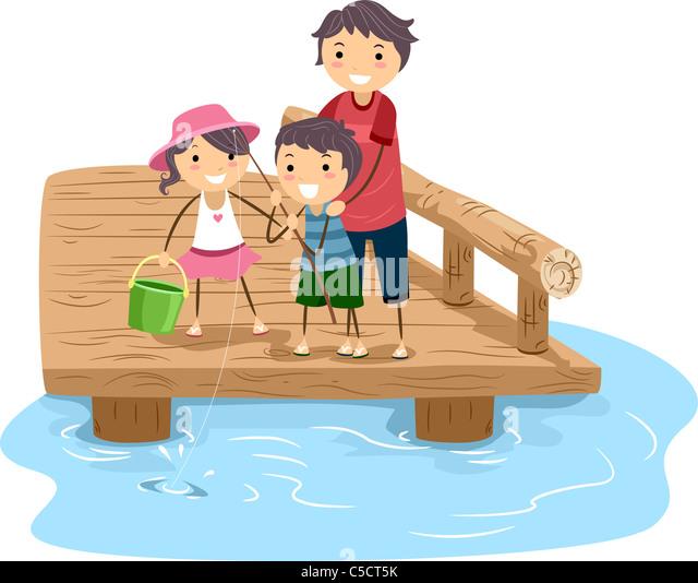 Family Fishing Cartoon | www.pixshark.com - Images ...