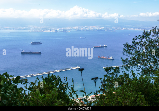 Strait shipping stock photos strait shipping stock - Moroccan port on the strait of gibraltar ...