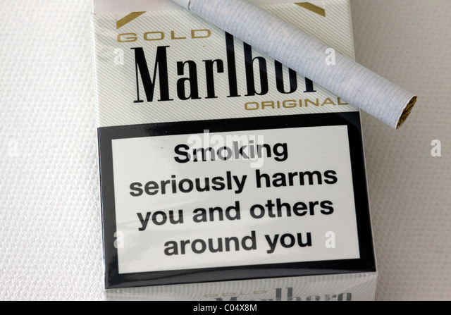 Thin cigarettes Marlboro brands London