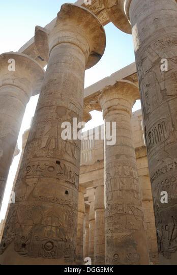 Amun Re Photographic Arts: Great Temple Of Amun, Karnak Stock Photos & Great Temple