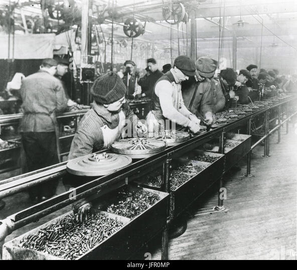 Ford motor company assembly line stock photos ford motor for Ford motor company history