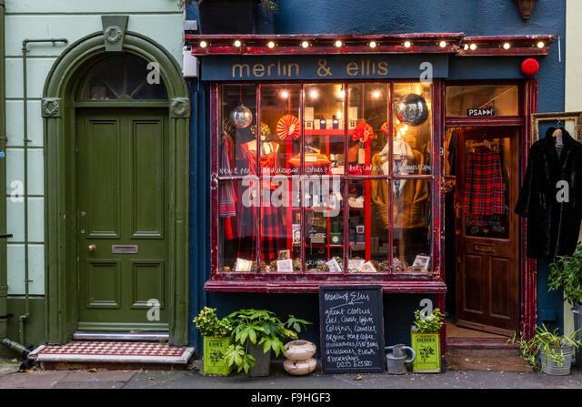 vintage shop brighton stock photos vintage shop brighton