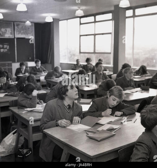 School 1960s Uk Stock Photos Amp School 1960s Uk Stock