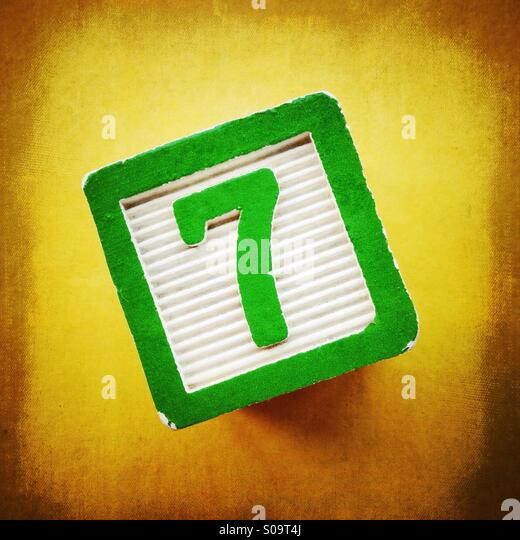 Number seven stock photos number seven stock images alamy - Lucky number 7 wallpaper ...