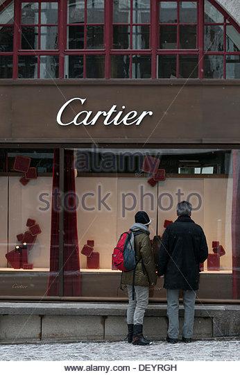 cartier outlet h0oa  St Moritz: Cartier shop