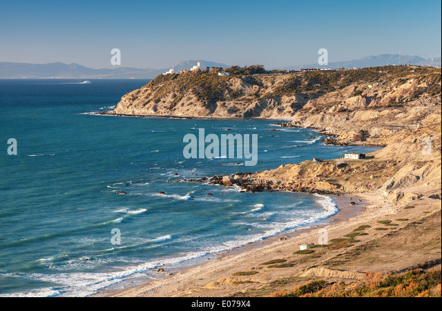 Spain to tanger morocco stock photos spain to tanger - Moroccan port on the strait of gibraltar ...