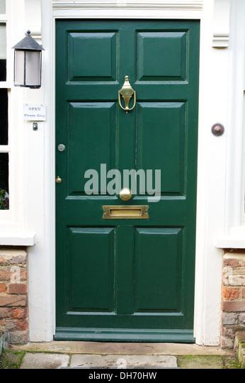 Green Front Door Stock Photos Green Front Door Stock Images Alamy - Green front door