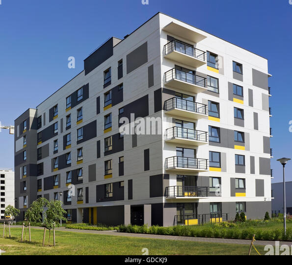 Ecological apartments stock photos ecological apartments for Low cost apartments amsterdam