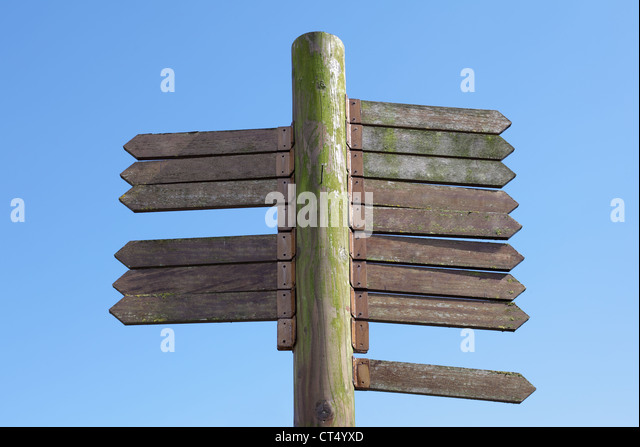 Wooden Signpost Stock Photos & Wooden Signpost Stock ...