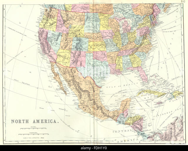 North South America Map Mexico Photos and North South America – Usa Map with Mexico