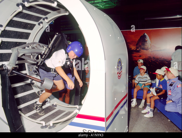 Us Space Camp. School Cadets Experience Rotation Flight ...