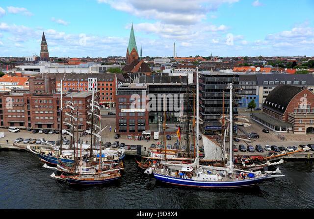 Kiel, Baltic Sea, Schleswig-Holstein, Germany, Europe - Stock Image
