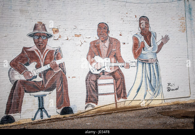 Guitar mural stock photos guitar mural stock images alamy for African american mural