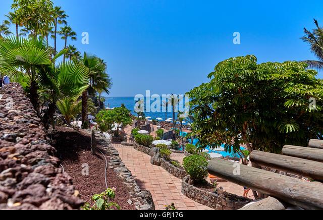Jardin tropical tenerife costa adeje stock photos jardin for Jardin tropical tenerife