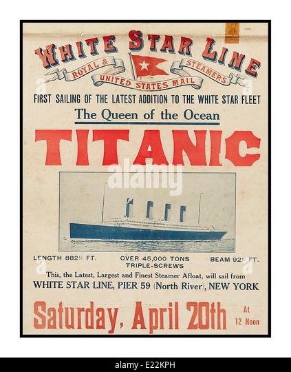 Titanic Stock Photos & Titanic Stock Images - Alamy