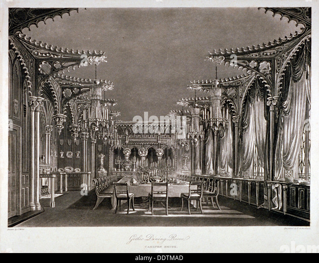 Dining Room In 19th Century Stock Photos & Dining Room In 19th ...