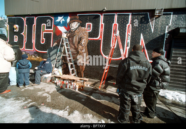 Tats stock photos tats stock images alamy for Big pun mural bronx