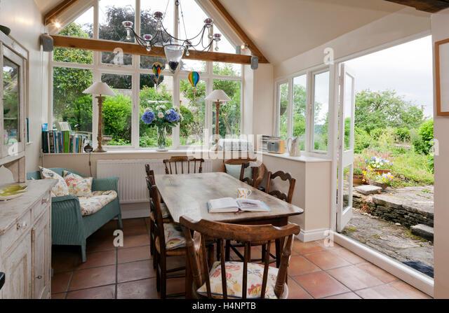 A Shabby Chic Dining Room Garden