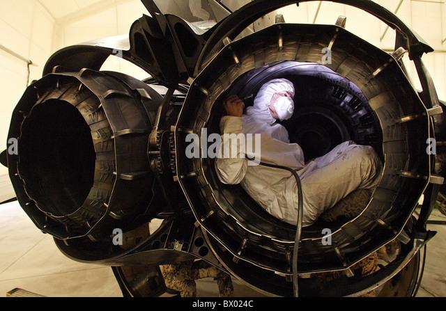 mechanic checking a jet engine mazar e sharif afghanistan stock image turbine engine mechanic