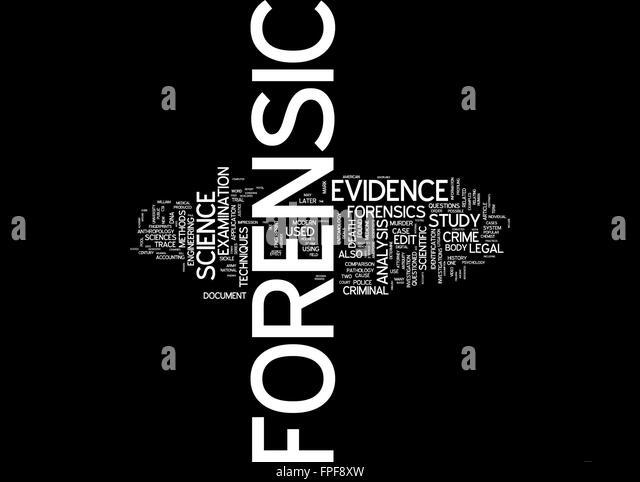 an analysis of the breakdown of evidence in forensic science Forensic science: the promise and perils of using science in the courtroom   although the science underlying the analysis of evidence such as fibers, paints,   its breakdown products, can help reveal the last time a material was purified.