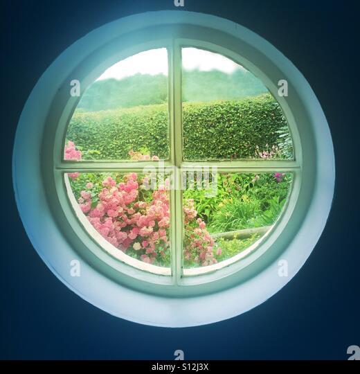 Round window outside stock photos round window outside for 12 round window