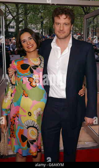 London Uk Colin Firth Livia Stock Photos & London Uk Colin ...