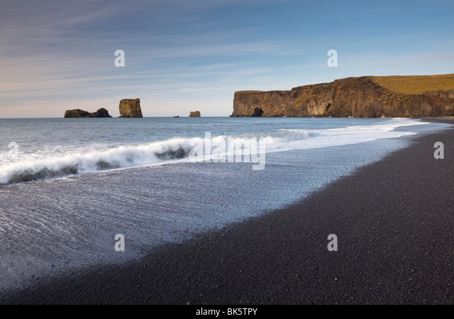 Vik Iceland Sand Stock Photos Vik Iceland Sand Stock