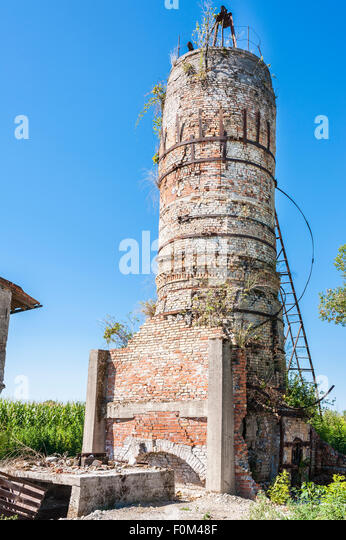 Blast Furnace Lime : Blast furnace ruins stock photos