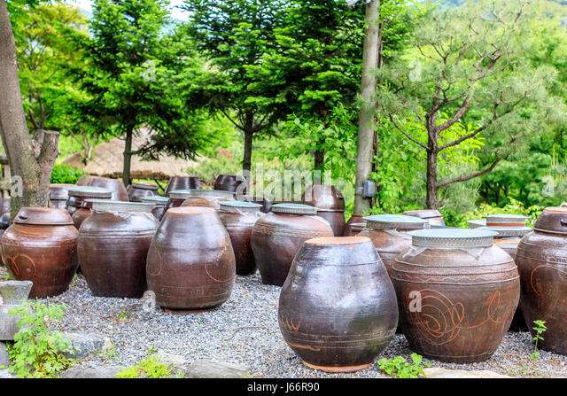 Kimchi Jar Stock Photo...