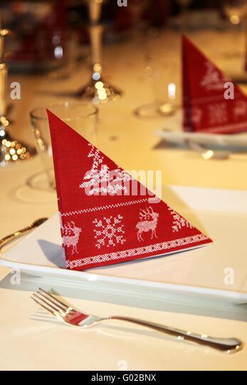 Weihnachtliche Tischdekoration decoration table hanging stock photos decoration table hanging stock