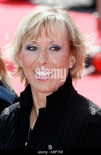 martina navratilova pictured in 2006 at the laureus awards in barcelona stock image