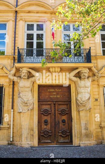 Cours mirabeau stock photos cours mirabeau stock images - Tribunal de commerce salon de provence ...