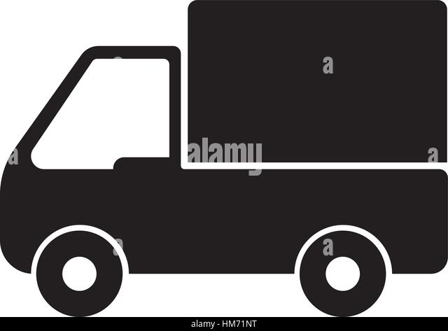 delivery truck icon vector - photo #11