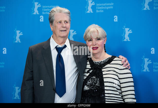 Musician Brian Wilson Beach Boys And Wife Melinda Ledbetter Attends The Photocall Of Love