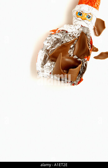 Chocolate wrapper stock photos
