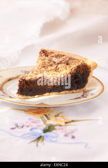 Probably the best picture of shoo fly pie that we could find