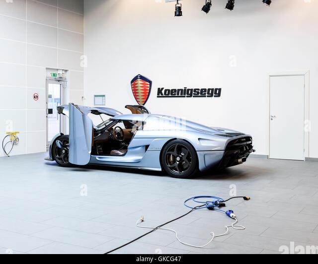 Koenigsegg Supercar Stock Photos Koenigsegg Supercar Stock