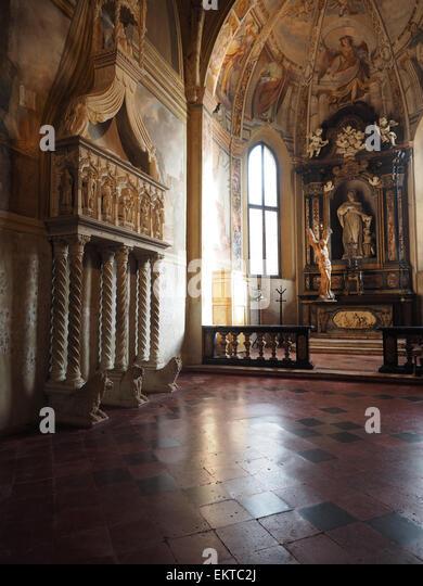Santeustorgio basilica stock photos santeustorgio for Piazza sant eustorgio