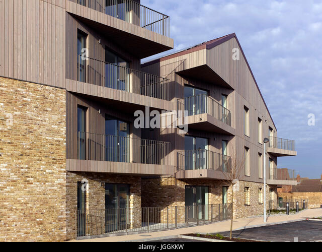 Wood Cladding Elevation : Timber cladding stock photos