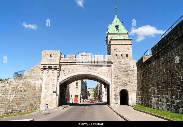 Canada gate stock photos canada gate stock images alamy for Porte st louis quebec