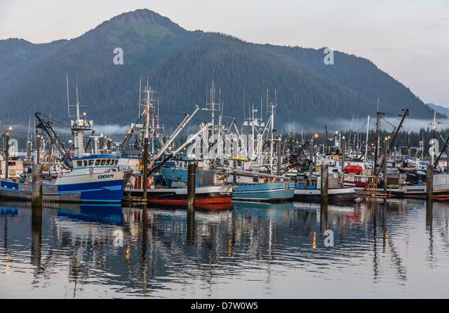 Petersburg alaska southeast town stock photos petersburg for Petersburg alaska fishing
