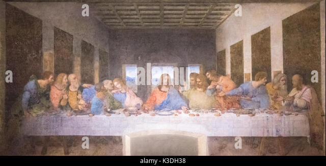 the last supper by leonardo da vinci 3 essay Leonardo da vinci's last supper is one of the most appreciated masterpieces in the world this religious mural painting has as a mayor theme to represent the.
