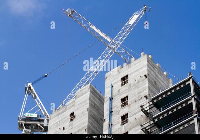 Industrial Estate Construction Uk Stock Photos