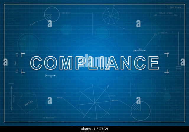 Quality control concept blueprint background stock photos quality compliance on paper blueprint background business concept stock image malvernweather Image collections