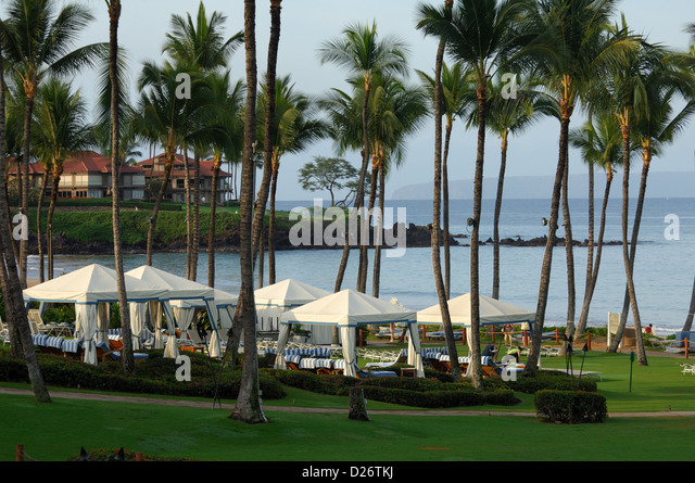 Cabanas Grand Wailea : Grand wailea stock photos images alamy