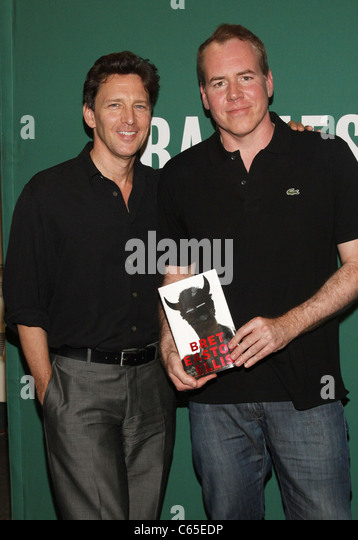 Andrew McCarthy  Bret Easton Ellis at in store appearance for IMPERIAL  BEDROOMS Book Signing. Andrew Mccarthy Stock Photos   Andrew Mccarthy Stock Images   Alamy