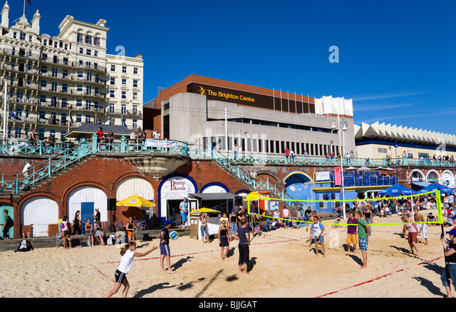 Nice At The Brighton Centre Stock Photos  At The Brighton Centre Stock  With Interesting England East Sussex Brighton Young People Playing Beach Volleyball On  Sand On Seafront With Beauteous Garden Centres South Wales Also Garden Centre Vacancies In Addition Angel Garden Ornaments Uk And Hatton Garden Jeweller As Well As Heligan Gardens Cornwall Additionally Bq Garden Sheds From Alamycom With   Interesting At The Brighton Centre Stock Photos  At The Brighton Centre Stock  With Beauteous England East Sussex Brighton Young People Playing Beach Volleyball On  Sand On Seafront And Nice Garden Centres South Wales Also Garden Centre Vacancies In Addition Angel Garden Ornaments Uk From Alamycom