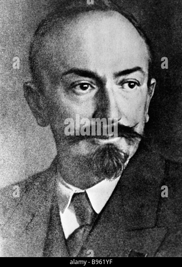 Boris Vinogradov Soviet Diplomat Chicherin Stock Photos...
