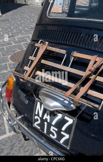 Italian White Fiat Car S Crashed