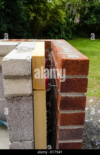 Styrofoam Insulation Spacers : External insulation stock photos
